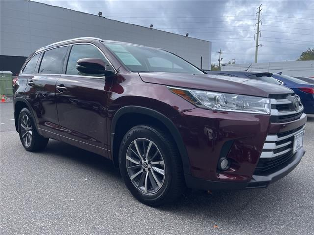 2018 Toyota Highlander XLE for sale in MORRISTOWN, NJ