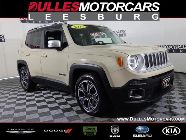 2015 Jeep Renegade Limited for sale in Leesburg, VA