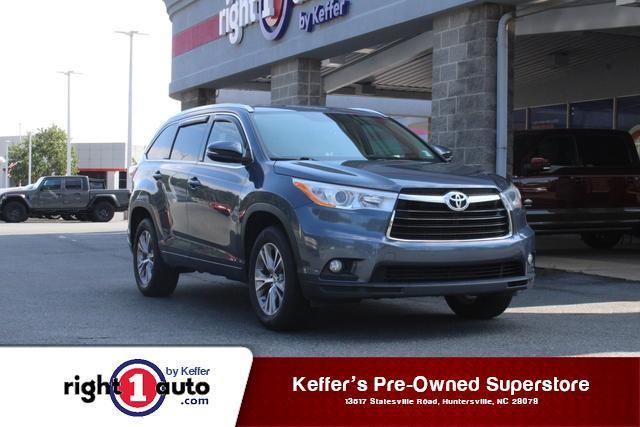 2014 Toyota Highlander XLE for sale in Huntersville, NC
