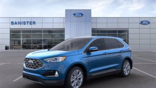 2021 Ford Edge Titanium for sale in Marlow Heights, MD