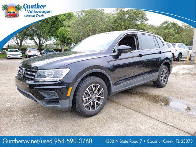 2019 Volkswagen Tiguan SE/SEL/SEL R-Line/SEL R-Line Black for sale in Coconut Creek, FL