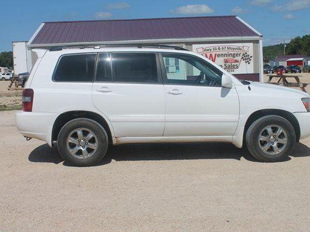 2007 Toyota Highlander Sport for sale in Iron Ridge, WI