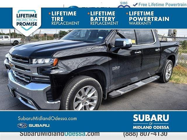 2019 Chevrolet Silverado 1500 LTZ for sale in Midland, TX