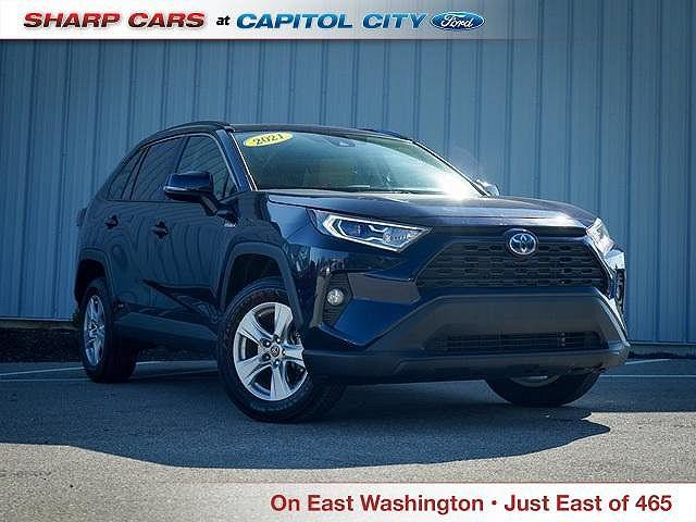 2021 Toyota RAV4 XLE for sale in Indianapolis, IN