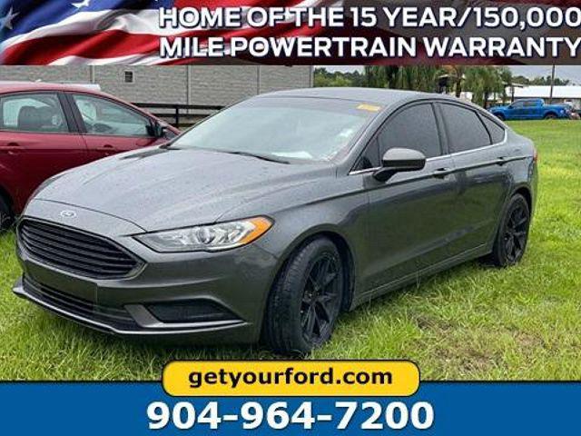 2017 Ford Fusion Hybrid SE for sale in Starke, FL