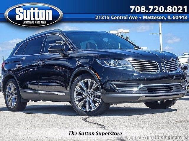 2018 Lincoln MKX Reserve for sale in Matteson, IL