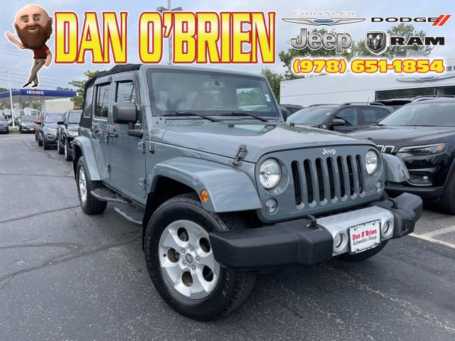 2014 Jeep Wrangler Unlimited Sahara for sale in Methuen, MA