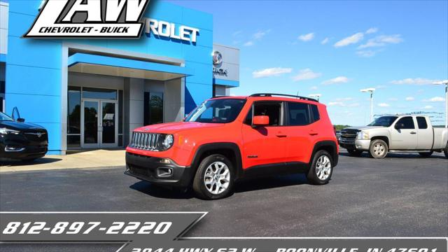 2018 Jeep Renegade Latitude for sale in Boonville, IN