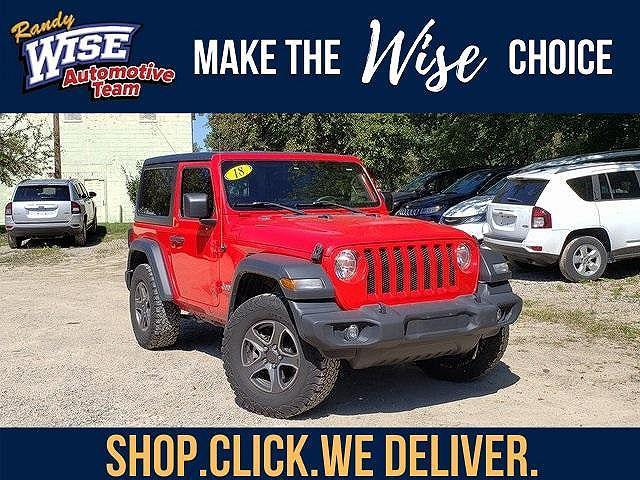 2018 Jeep Wrangler Sport S for sale in Durand, MI