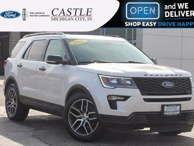 2018 Ford Explorer Sport for sale in Michigan City, IN