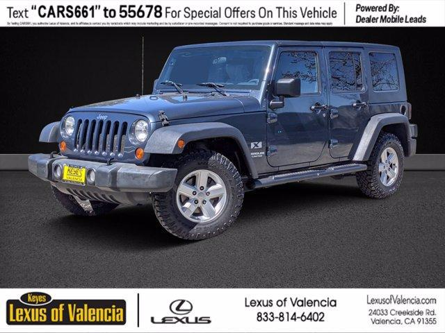 2007 Jeep Wrangler Unlimited X for sale in Valencia, CA
