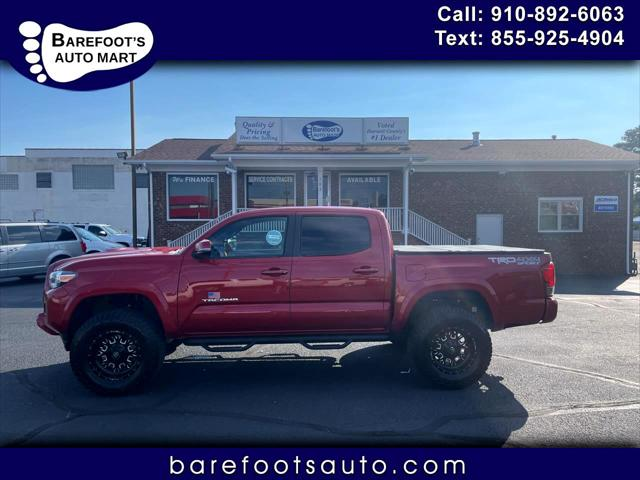 2016 Toyota Tacoma 4WD Double Cab V6 AT TRD Sport (Natl) for sale in Dunn, NC