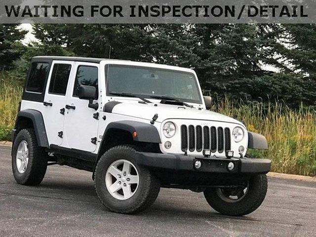2016 Jeep Wrangler Unlimited Sport for sale in Marshfield, WI