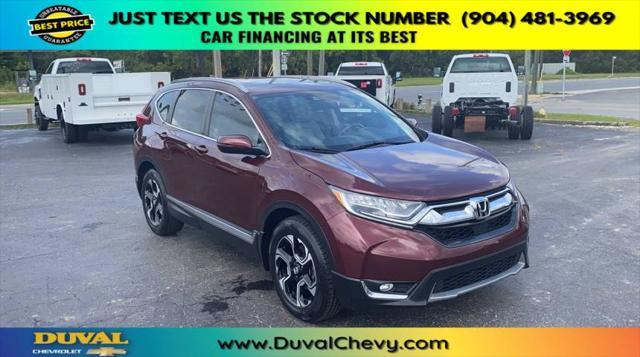 2017 Honda CR-V Touring for sale in Starke, FL