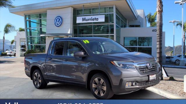 2019 Honda Ridgeline RTL-T for sale in Murrieta, CA