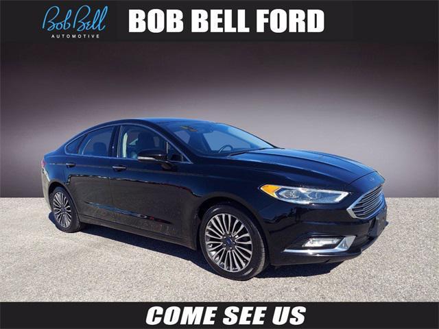 2017 Ford Fusion Titanium for sale in GLEN BURNIE, MD