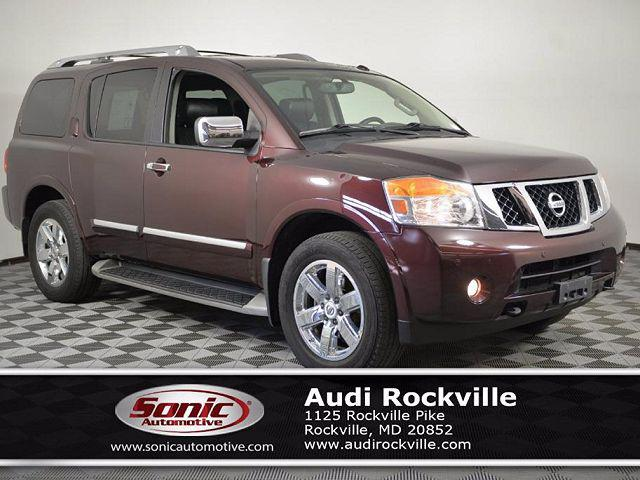2014 Nissan Armada Platinum for sale in Rockville, MD