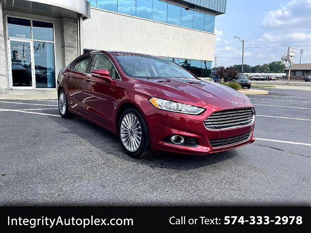 2016 Ford Fusion Titanium for sale in Elkhart, IN