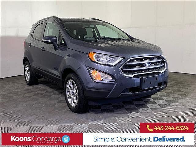 2018 Ford EcoSport SE for sale in Owings Mills, MD