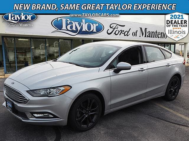 2018 Ford Fusion SE for sale in Manteno, IL