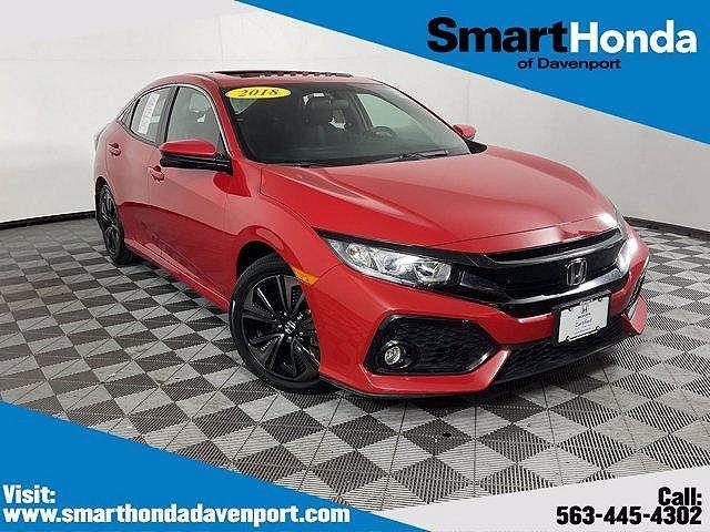 2018 Honda Civic Hatchback EX for sale in Davenport, IA