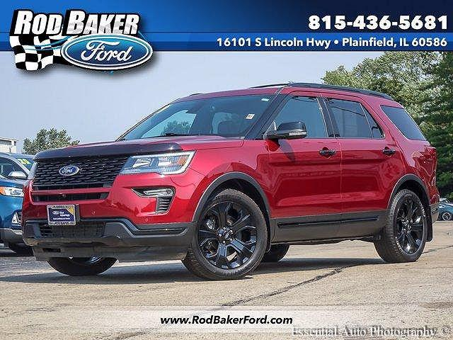 2019 Ford Explorer Sport for sale in Plainfield, IL