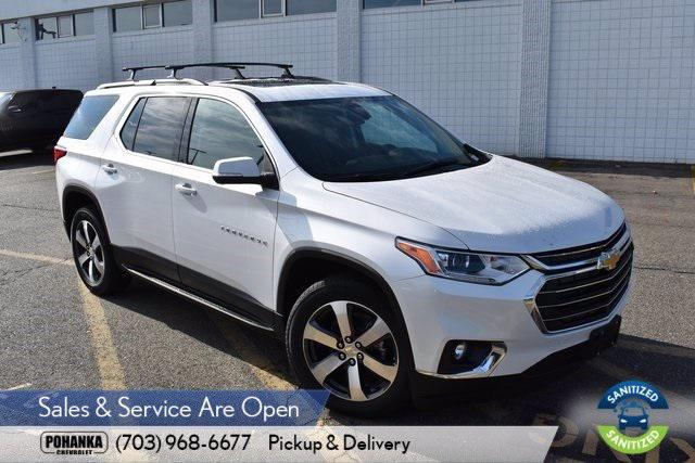 2021 Chevrolet Traverse LT Leather for sale in Chantilly, VA