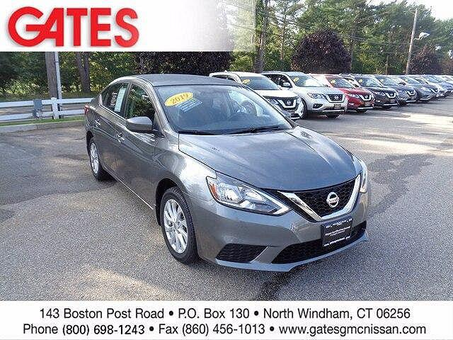 2019 Nissan Sentra SV for sale in North Windham, CT