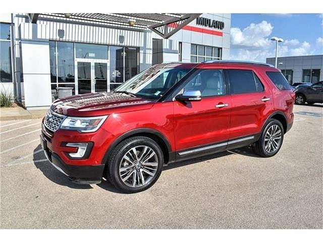 2017 Ford Explorer Platinum for sale in Midland, TX