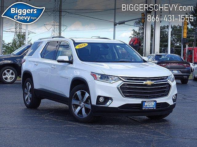 2018 Chevrolet Traverse LT Leather for sale in Elgin, IL