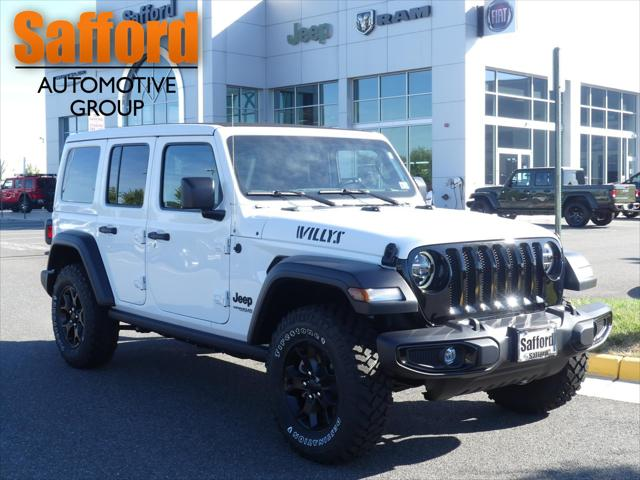 2021 Jeep Wrangler Unlimited Willys for sale in Springfield, VA