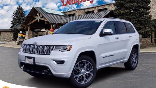 2021 Jeep Grand Cherokee Overland for sale in Plano, IL