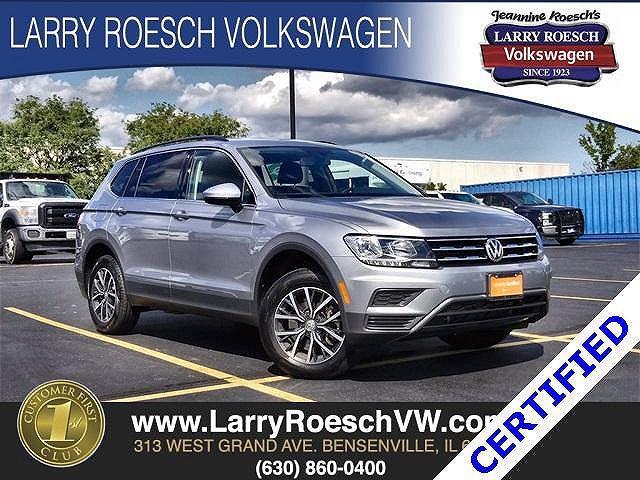2020 Volkswagen Tiguan SE for sale in Bensenville, IL