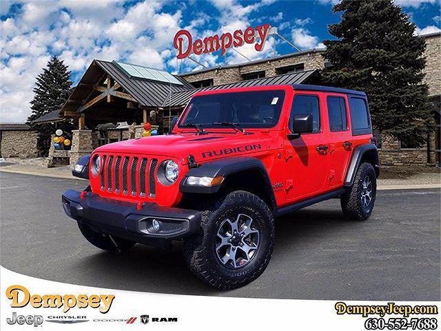 2021 Jeep Wrangler Unlimited Rubicon for sale in Plano, IL