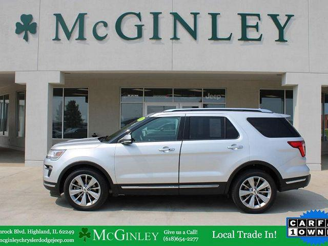 2018 Ford Explorer Limited for sale in Highland, IL