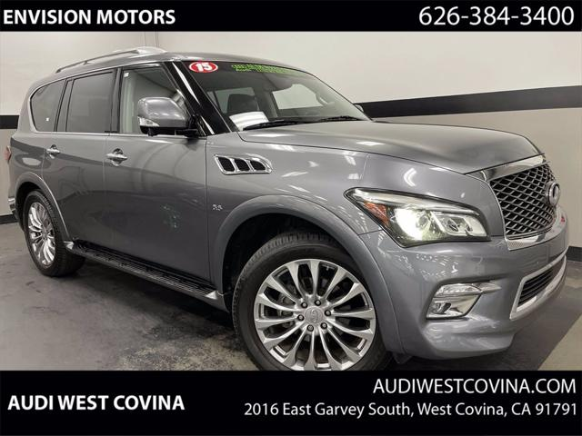 2015 INFINITI QX80 2WD 4dr for sale in West Covina, CA