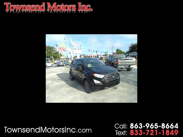 2020 Ford EcoSport S for sale in Boulevard, FL
