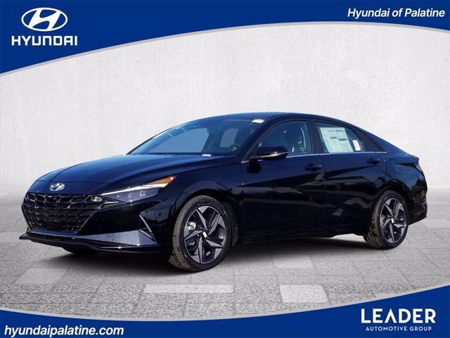 2022 Hyundai Elantra Hybrid Limited for sale in PALATINE, IL
