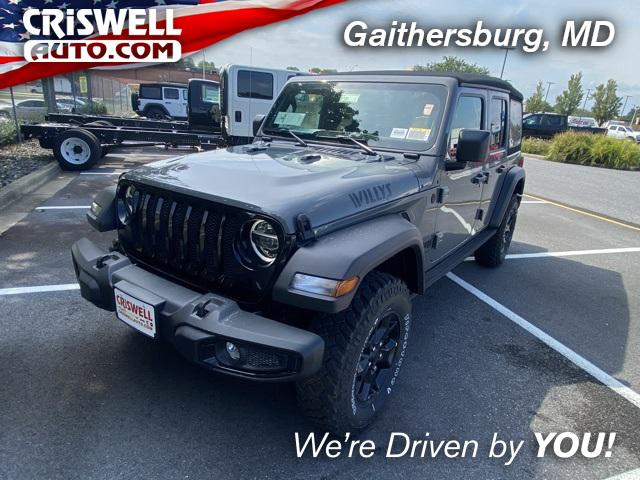 2021 Jeep Wrangler Unlimited Willys for sale in Gaithersburg, MD