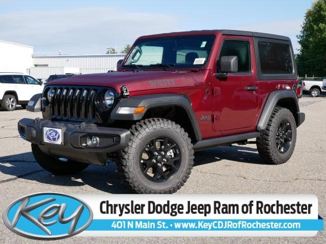 2021 Jeep Wrangler Willys Sport for sale in Rochester, NH