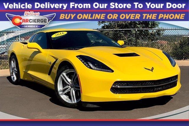 2016 Chevrolet Corvette 1LT for sale in Colorado Springs, CO