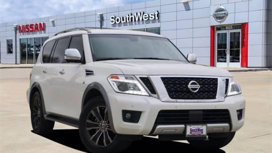 2017 Nissan Armada Platinum for sale in Weatherford, TX