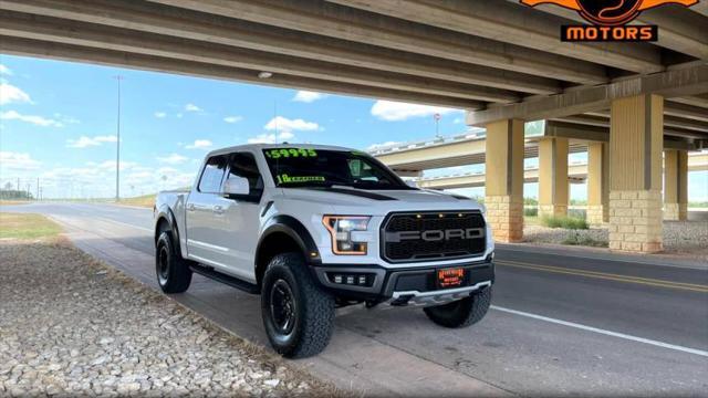 2018 Ford F-150 Raptor for sale in Abilene, TX