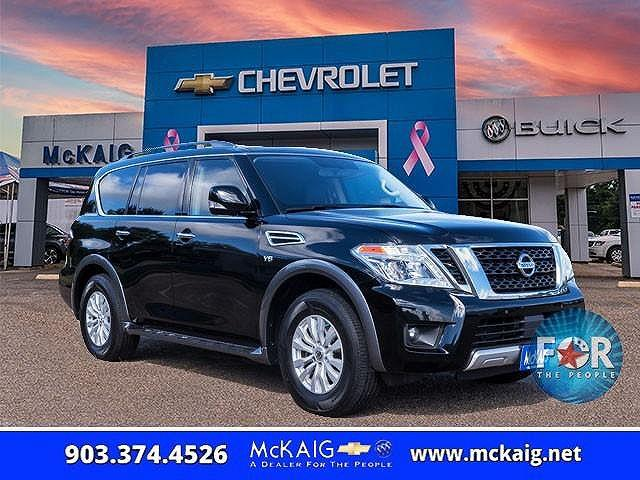 2018 Nissan Armada SV for sale in Gladewater, TX
