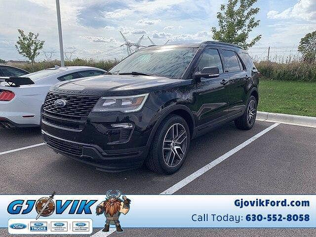 2018 Ford Explorer Sport for sale in Plano, IL