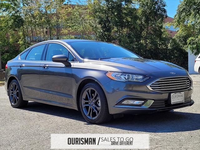 2018 Ford Fusion SE for sale in Vienna, VA
