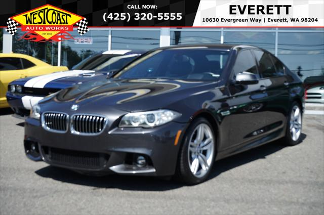 2015 BMW 5 Series 535i for sale in Everett, WA
