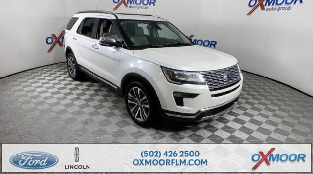 2018 Ford Explorer Platinum for sale in Louisville, KY