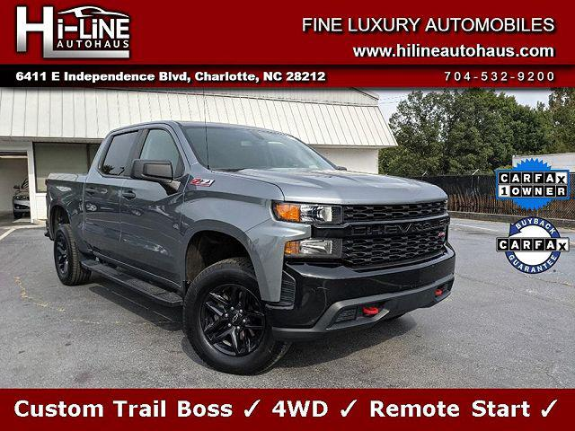2019 Chevrolet Silverado 1500 Custom Trail Boss for sale in Charlotte, NC