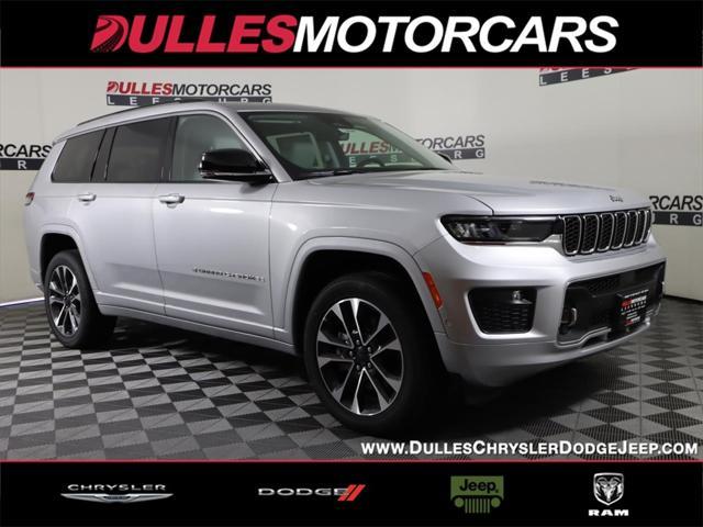 2021 Jeep Grand Cherokee Overland for sale in Leesburg, VA